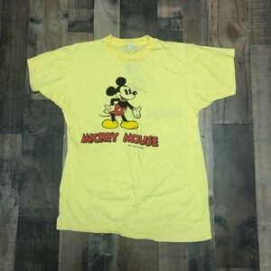 Disney Mickey Mouse Double Sided Single Stitch Tee